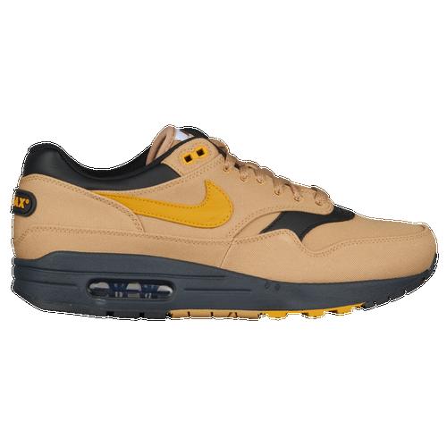ef853552e7 Nike Air Max 1 Premium - Men's - Casual - Shoes - Elemental Gold/Mineral  Yellow/Black