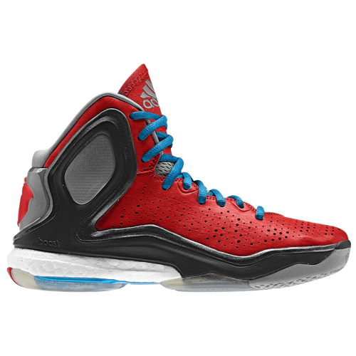 adidas D Rose 5 Boost - Boys' Grade School - Basketball - Shoes - Rose,  Derrick - Light Scarlet/Solar Blue/Black