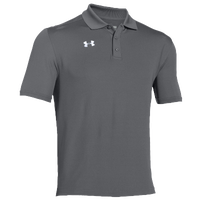 Under Armour Team Armour Polo - Men's - Grey / Grey