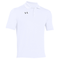 Under Armour Team Armour Polo - Men's - All White / White