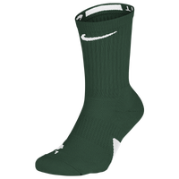 Nike Elite Crew Socks - Dark Green