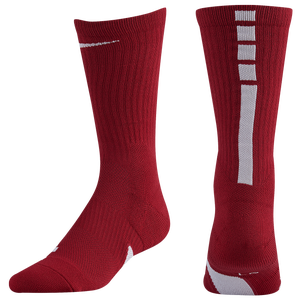 Nike Elite Crew Socks - Team Crimson/White