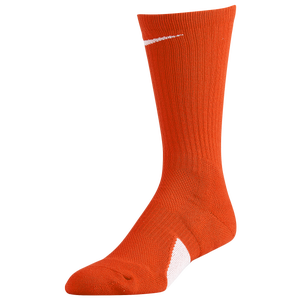 Nike Elite Crew Socks - Team Orange/White