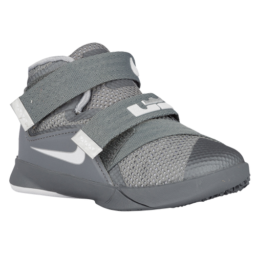 2793234d1216 Nike Soldier IX - Boys  Toddler - Basketball - Shoes - Cool Grey ...