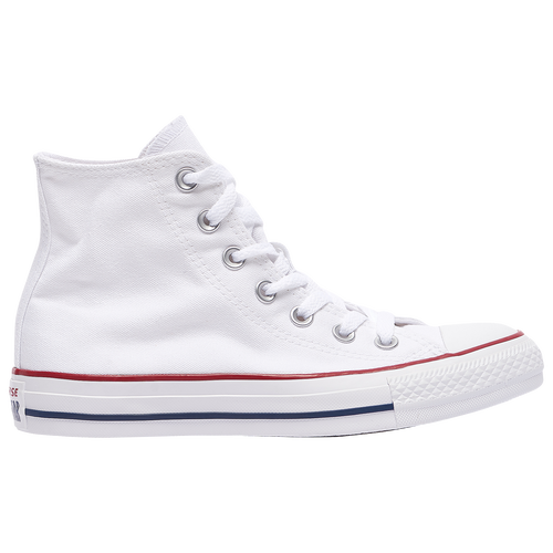 Converse All Star Hi - Boys' Grade School - Converse - Casual -  Natural/Enamel Red