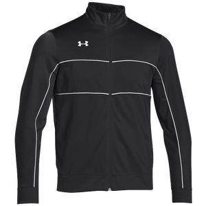 Under Armour Team Rival Knit Warm-Up Jacket - Men's - Black/White