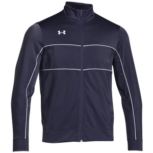 Under Armour Team Rival Knit Warm-Up Jacket - Men's - Navy/White