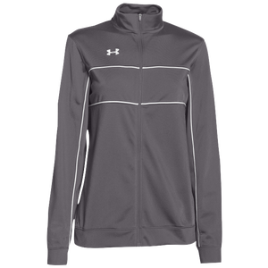 Under Armour Team Rival Knit Warm-Up Jacket - Women's - Graphite/White