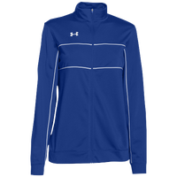 Under Armour Team Rival Knit Warm-Up Jacket - Women's - Blue / White