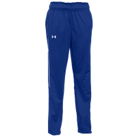 Under Armour Team Rival Knit Warm-Up Pants - Women's - Blue / White
