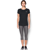 Under Armour Tech T-Shirt - Women's - Black / Black