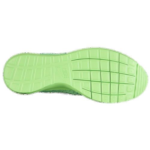 Nike Roshe Flyknit - Men's - Running - Shoes - Voltage Green/Lucid  Green/White