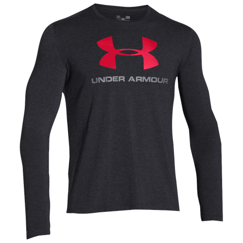 Under Armour Sportstyle Logo Long Sleeve T-Shirt - Men's - Casual ...