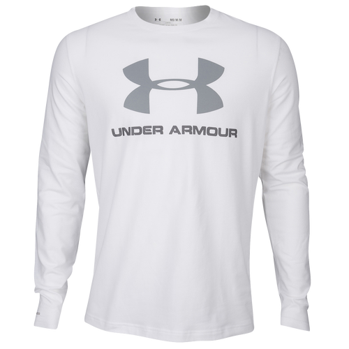 Under Armour Sportstyle Logo Long Sleeve T Shirt Men S Casual