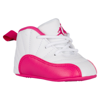 Jordan Retro 12 - Girls  Infant - White   Pink 1bdfa98d9