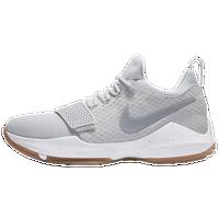 Nike PG 1 - Men's - Paul George - Grey / White