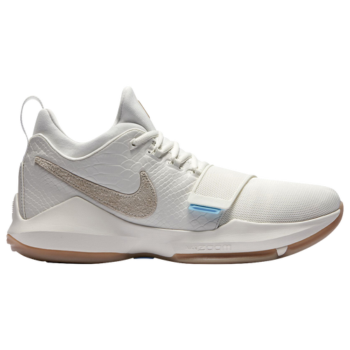 Nike PG 1 - Men's - Basketball - Shoes - George, Paul - Ivory/Oatmeal/Matte  Silver/Vivid Sky/Black