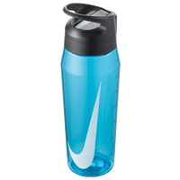 Nike TR Hypercharge Straw Bottle 32 OZ - Blue