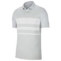 Nike Dry Vapor Striped Golf Polo - Men's - Grey