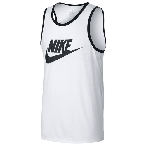 6c95496d0d0478 Nike Ace Logo Tank - Men s - Casual - Clothing - Black Heather Bleached Aqua
