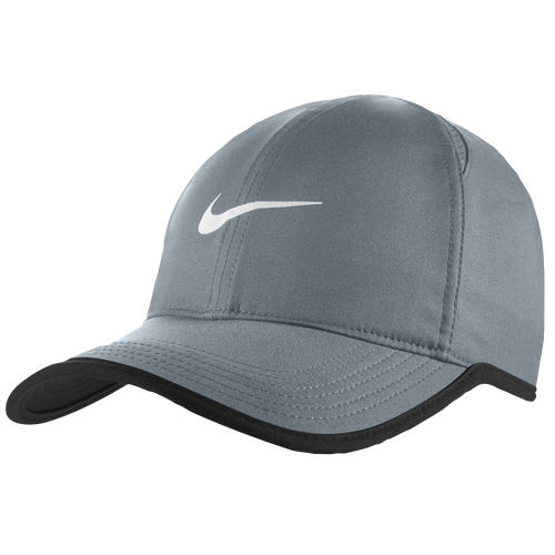 1bae0801a30 Nike Dri-FIT Featherlight Cap - Men s - Running - Accessories - Cool Grey  Black Cool Grey White