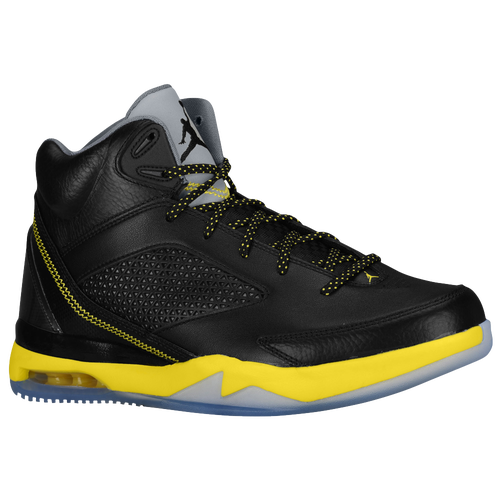 Jordan Future Flight Remix - Men's - Basketball - Shoes - Black/Vibrant  Yellow/Cool Grey