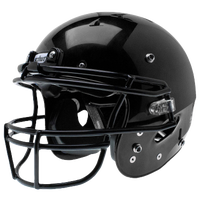Schutt Team Recruit R3 Hybrid Helmet - Boys' Grade School - All Black / Black