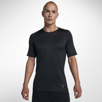 Nike Pro Fitted S/S Colorburst Top - Men's - Black / Red