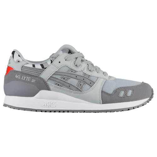 asics tiger gel lyte iii boys grade school grey  grey