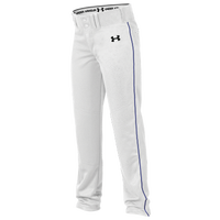 Under Armour Team Next Open Bottom Baseball Pants - Boys' Grade School - White