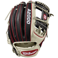 Wilson A2000 1786 Superskin Fielder's - Men's - Silver / Red