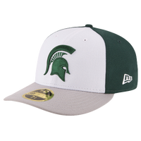 huge selection of b2d26 92629 New Era College 59Fifty Front   Center Low Profile - Men s - Michigan State  Spartans -