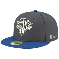 timeless design 38320 3ea88 New Era NBA 59Fifty Shader Cap - Men s - New York Knicks - Grey   White