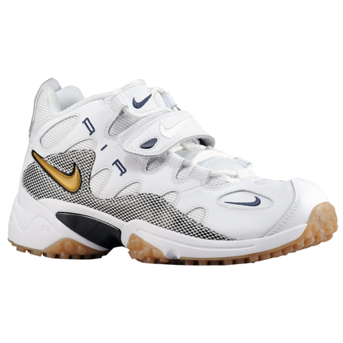 Nike Air Turf Raider - Men's Casual - White/Black/Midnight Navy/Metallic Gold 80401100