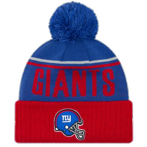 New Era NFL Cheer Cuff Pom Knit - Men s - Accessories - New York ... 208e31b45