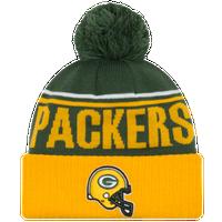 New Era NFL Cheer Cuff Pom Knit - Men s - Green Bay Packers - Dark Green 08b19eed17ba