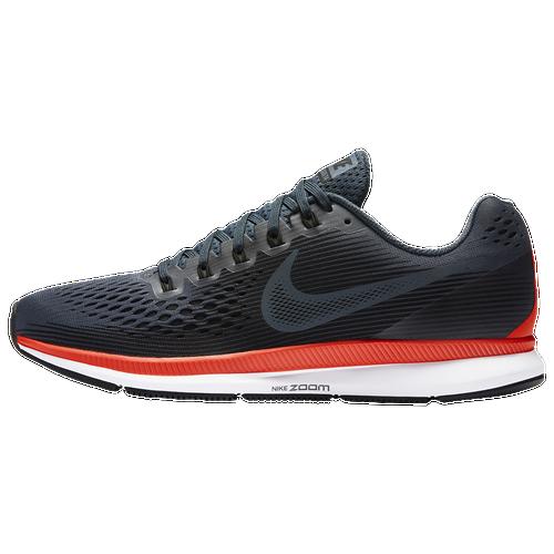 Nike Air Zoom Pegasus 34 - Men's - Running - Shoes - Blue Fox/Black/Bright  Crimson/White