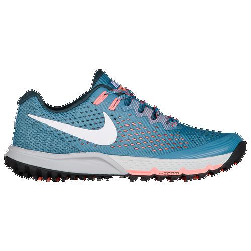 Nike Air Zoom Terra Kiger 4 - Women's Running Shoes - Noise Aqua/White/Deep Jungle/Crimson Pulse 80564401