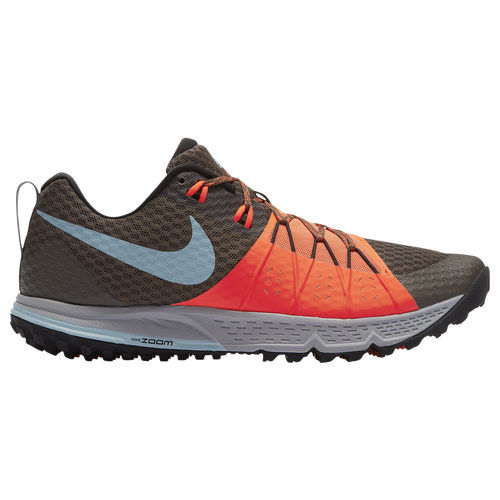 Nike Zoom Wildhorse 4 - Men's - Running - Shoes - Ridgerock/Ocean  Bliss/Total Crimson/Black