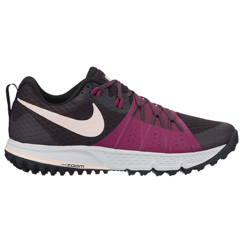 Nike Air Zoom Wildhorse 4 - Women's - Running - Shoes - Port Wine/Sunset  Tint/Tea Berry