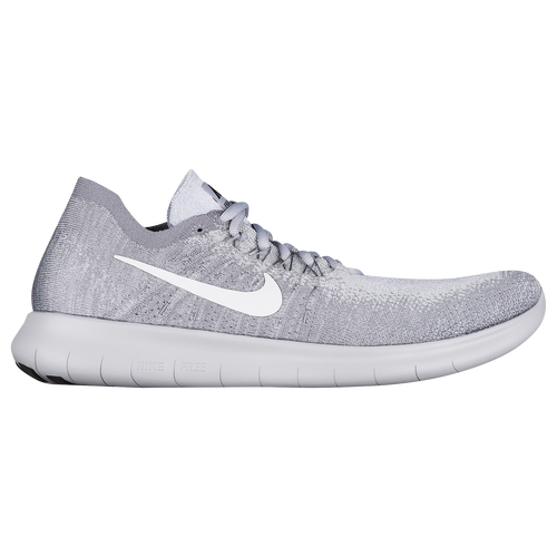 more photos 766e5 954b1 ... free shipping nike free rn flyknit 2017 mens running shoes wolf grey  white anthracite cool grey