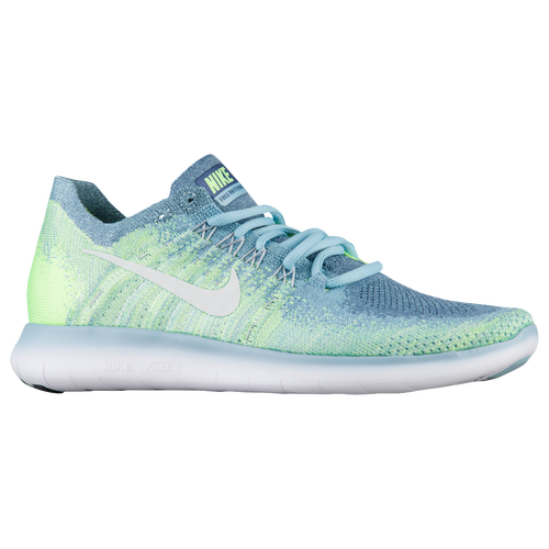 5d2cde3889c94 Nike Free RN Flyknit 2017 - Women s - Running - Shoes - Blue Moon ...
