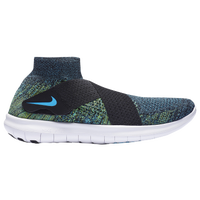 online store 92fac 424ea Nike Free RN Motion Flyknit 2017 - Mens - Black  Light Green