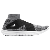 nike free run motion flyknit white