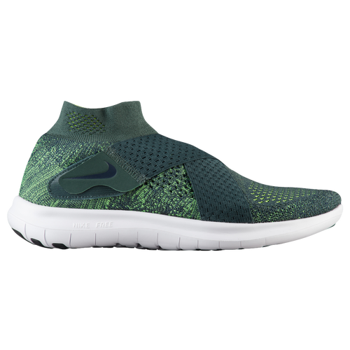 59d6433aebc2 Nike Free RN Motion Flyknit 2017 - Women s - Running - Shoes - Vintage  Green Vlot Obsidian Barely Volt
