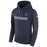 29589c43ae6 Nike NFL Player Therma Pullover Hoodie - Men s - Dallas Cowboys - Navy    Grey