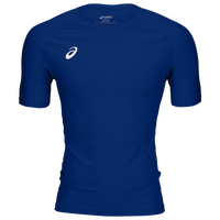 ASICS® Wrestling Compression Short Sleeve Top - Men's - Blue