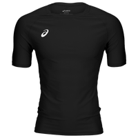 ASICS® Wrestling Compression Short Sleeve Top - Men's - Black