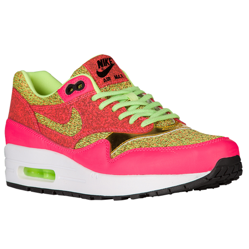 Nike Air Max 1 - Women's - Casual - Shoes - Ghost Green/Ghost Green/Hot  Punch