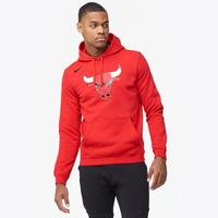 487ee38d703c Nike NBA Club Logo Hoodie - Men s - Chicago Bulls - Red   White